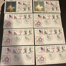 Korea FDC (x8) (with 6 Info Booklets)