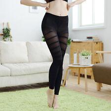 Women's Black Soft Sexy Leggings Stretch Slim Pants Pencil Skinny Leg Shaper