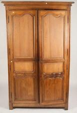 18TH/19TH CENTURY LARGE FRENCH PROVINCIAL LOUIS XV-STYLE OAK ARMOIRE.... Lot 968