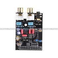 HIFI DAC HIFI Audio Sound Card Module I2S Interface For Raspberry Pi B Black New