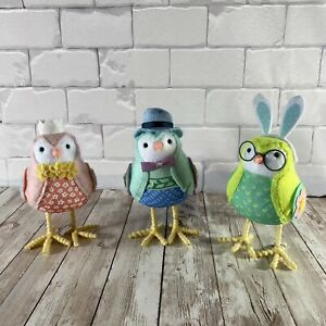 Lot of 3 2020 Target Spritz Easter Birds Stormy Rainn Skyler One New with Tag