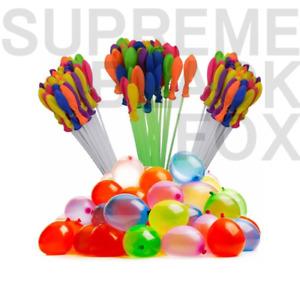 US SELLER! 666 pcs 18 Bunch O Instant water Balloons,Self-Sealing,already tied