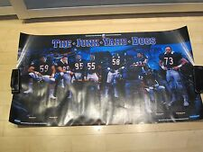 The Junk Yard Dogs 1986 Classic Poster Original Mint Chicago Bears