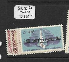 SYRIA FREE FRENCH FORCES  (P0604BB)  SG 18-21  MNH