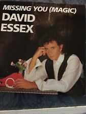 "David Essex ‎– Missing You (Magic)  7""Single"