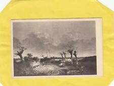 CROME  : ' ROAD WITH POLLARDS ' -  NORWICH  MUSEUM        ,   NORFOLK   ( r34 )