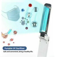 Portable UV Sterilizer Light Mini Travel Wand USB Germicidal Lamp Pet Hotel Car