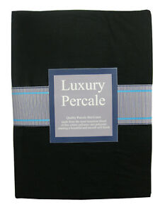 """Extra Deep with 16"""" / 40cm Box PERCALE FITTED Sheets"""