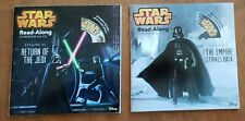 New ListingLot of 2 Disney Star Wars Read-Along Storybook & Cd: Return of the Jedi & Empire