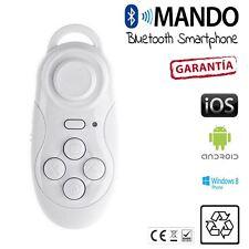 MANDO DISTANCIA bluetooth juegos gafas VR realidad smartphone iOs Android BLANCO