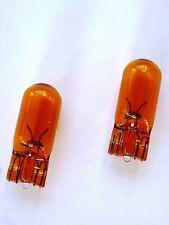 (1,65€/Einheit) 2x NARVA® 12V 5W WY5W Sockel W2,1x9,5d Glassockel gelb amber