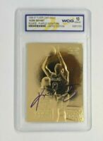 Kobe Bryant Rookie Card 23K Gold Auto Los Angeles Lakers Gem Mint 10 Grade Rare!