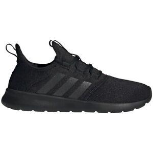 Womens Adidas Cloudfoam Pure Black Athletic Fitness SlipOn Shoe H04754 Size 7-10