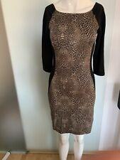 Kleid Leoparden Muster Gr 34 36 XS Von Reserved