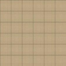 Wallpaper Designer Harris Plaid Mini Houndstooth Beige Tan and Almost Black