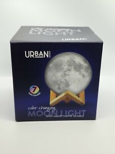 Urban Shop COLOR Changing MOON Light with Remote Control battery operated