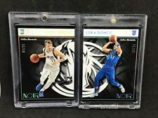 2018-19 Panini Noir Associate Edition Luka Doncic RC WHITE AND BLUE 9/25 20/25