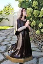 St. Bernadette Outdoor Garden Statue 16 inch Indestructible Polyurethane