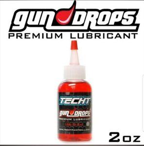 TechT Paintball Gun Drops Marker Oil Premium Lubricant - 2 oz