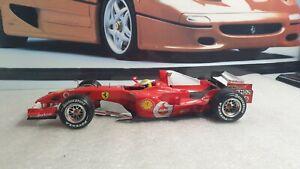HOTWHEELS / F1- FERRAR 248F1 - MASSA - 1/18 SCALE MODEL CAR  SPARES / REPAIR
