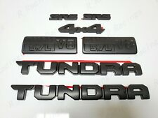 2014-2020 TOYOTA TUNDRA BLACKOUT EMBLEMS OVERLAY KIT GENUINE OEM PT948-34181-02