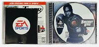 Knockout Kings Sony PlayStation 1 Authentic Black Label Manual Tested Complete