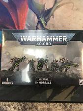 Necron Immortals Necrons Warhammer 40k 40,000 Model New!