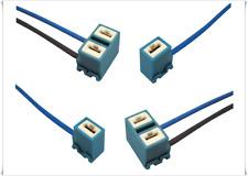 CONNETTORE CERAMICO LAMPADE H1 H7 RING RBH006 RBH002 KIT 4 CONNETTORI