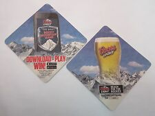 Coors Light Beer Coaster ~ The Great Rocky Mountain Game ~ DOWNLOAD, PLAY & WIN!