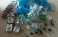 Heroclix lot grab bag, 10 figures.  New figures or gently used. DC and Marvel