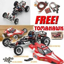 Kyosho 30615B 1/10 Tomahawk Off Road Racer Buggy Kit w/ Clear Body + Free LED