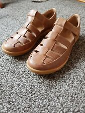 Clarks Un Haven Cove - Dark Tan Leather (Brown) Womens Shoes UK 6 D NEW