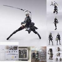 NieR Automata 2B FIGMA Kai Figurine Action Figure YoRHa 9S Game Toys With Box