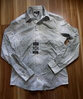 DKNY Mens Button Down Shirt Exploded Plaid Chino Heather Size XL - $79.50 NWT