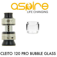 Aspire Cleito 120 PRO Glass FatBoy Bubble Bulb Extension Extended Tube Glasses