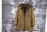 """Womens Ridleys Brown Sheepskin Coat size 38"""" No.U25 04/1"""
