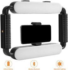 New listing Gvm 5600K Selfie Cell Phone Ring Light, Smartphone Video Rig & Phone Video