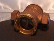 New listing Ernst Gage Co E-35 1810 Propeller Sight Flow Indicator Glass Propeller Nos