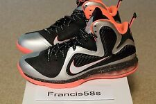 Nike LeBron 9 Bright Mango Size 10.5 Used Worn Cheap Shoes Basketball Yeezy Heat