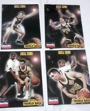 Weet Bix World Ball Skill Cards x4