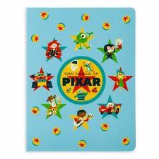 Disney Parks Pixar Notepad Folio Set, New
