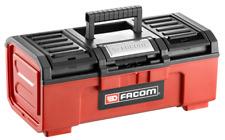"Facom Caja Herramientas Pequeña Modelo 16"" Auto Bloqueo Bp.c16n"