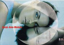 PUBLICITE ADVERTISING 035  1998  MORGAN  mode CORPS-AME  ( 2p)