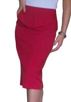 Ladies Skirt Womens Stretch Plain Pencil Peplum Midi Size 12 14 16 18 20 22