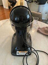 KitchenAid KSM150PSOB Artisan Series 5 qt. Tilt-Head Stand Mixer - Onyx Black