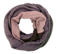Ella Jonte Loop rosa grau lila Strick Schal Herbst Winter wärmend Damenschal