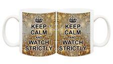 Strictly Come Dancing Keep Calm Mug Coffee Cup Gift Christmas Carry On