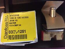 Danfoss EV220B 10B G 12E NC000   (EVSI 10) Valve