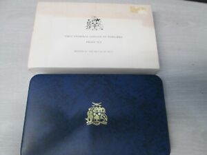 1973 Barbados First National Silver Coinage Proof Commemorative 8 Coin Set