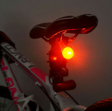 2X Red LED Bike Tail Light Flash Lights Bicycle Cycling Safety Warning Lamp